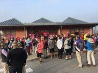 150 personnes ont participé à la 1ère marche organisée à Massingy dans le cadre d'Octobre Rose le DIMANCHE 21 OCTOBRE 2018, par MASSINGY POUR TOUS en collaboration avec la municipalité, le CCAS et les associations de Massingy. Chaque participant avait arboré un ruban rose à la boutonnière. Pour une première, ce fut un vrai succès. Nous remercions la mobilisation de la population.