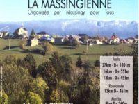 flyer d'inscription pour la 4ème édition de la Massingienne